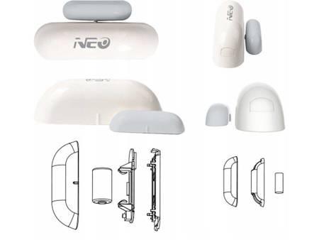 Alarmowy czujnik otwarcia okna / drzwi NEO WiFi Tuya