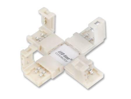 Łącznik kątowy CONNECTOR CLICK do taśm LED line® 8mm 2 pin typ +
