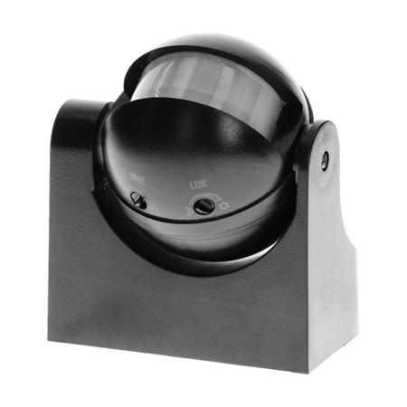 ORNO Czujnik ruchu 180st. pionowa regulacja IP44 230V 1200W czarny