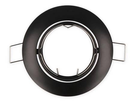 Oprawa MR16 okrągła ruchoma odlew czarna