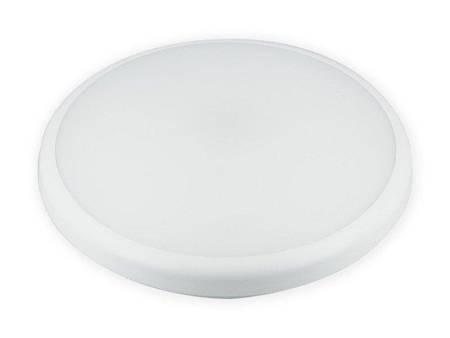 Plafon LED line® LUNAR okrągły 220-240V 22W 1870lm 4000K biała dzienna IP65 z czujnikiem ruchu