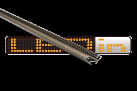 Profil narożny INOX anodowany typ C 2 metry