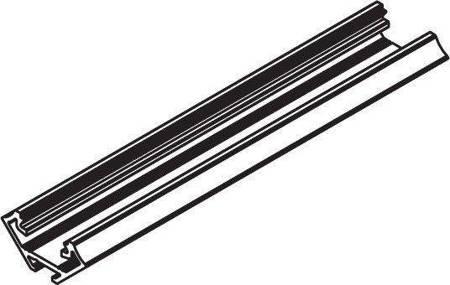 Profil narożny czarny anodowany typ C 2 metry
