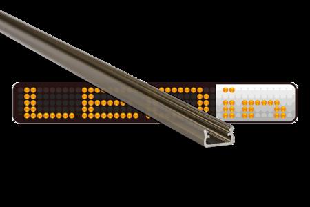 Profil nawierzchniowy INOX anodowany typ A 2 metry