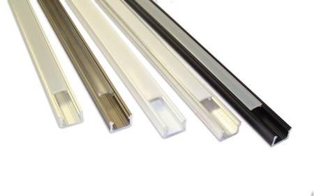 Profil nawierzchniowy SLIM srebrny anodowany typ X 1 metr