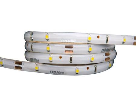 Taśma LED line 150 SMD 3528 biała dzienna 3900-4175K w powłoce silikonowej IP65 5 metrów