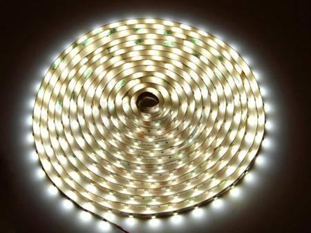 Taśma LED line 300 SMD 3528 biała dzienna 3900-4175K w powłoce silikonowej IP65 5 metrów