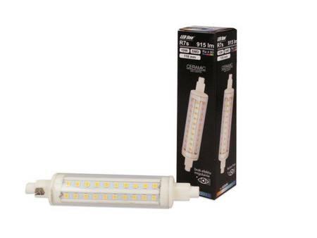 Żarnik LED line R7S SMD 220-260V 10W 915lm BD 118mm biała dzienna 4000K