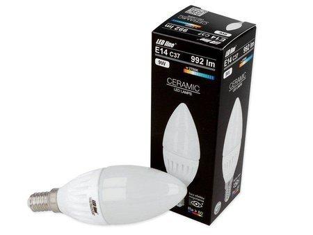 Żarówka LED E14 230V 9W 992lm C37 2700K biała ciepła świeczka