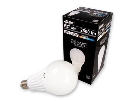 Żarówka LED line E27 170-250V 25W 2500LM biała dzienna 4000K A95