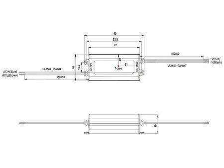 Zasilacz APV mini Mean Well 1A 12W 12V
