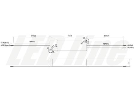 Zasilacz wodoodporny Mean Well 5A 60W 12V,  IP67