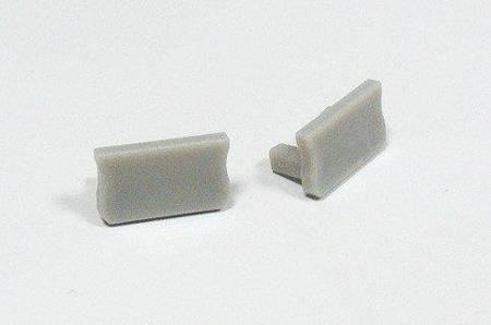 Zaślepka 1 sztuka do profilu nawierzchniowego Lumines typ A szara